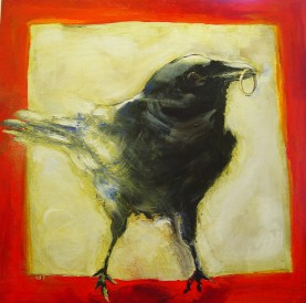 Crow Goes to a Wedding SOLD