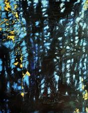 Deep Dark 5, 2014, 8x10, acrylic on cradle board SOLD