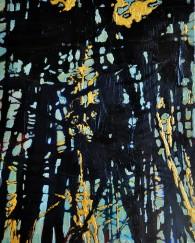 Deep Dark, 2014,10x8, Acrylic on cradle boardSOLD