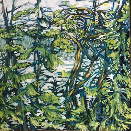 Galiano Study 3, 8 by 8, SOLD