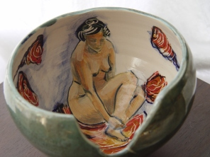 The Gaze, clay, lustre, glaze, oxides, underglaze