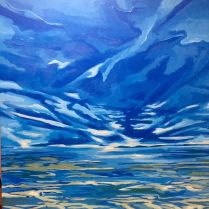 New Horizons... 24 by 24, Acrylic on Canvas SOLD