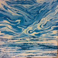 New Horizons...24 by 24, acrylic on Canvas SOLD